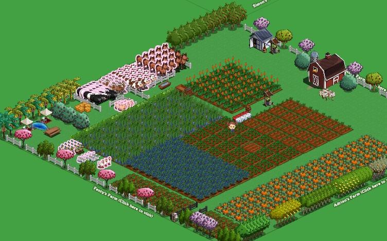 ladang saya di farmville
