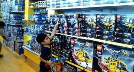 Vio at Legoland