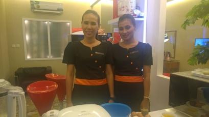 Chef kami malam itu..